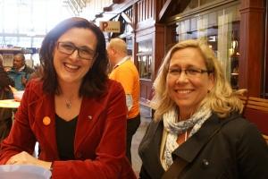 Cecilia och Helene Odenljung