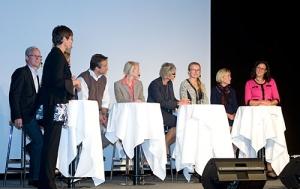 Foto från invigningen på Lindholmen 8 september 2011