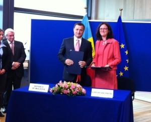 Malmström och premiärminister