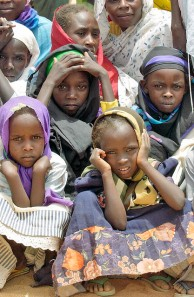 Refugees in Chad. Photo: United Nations flickr