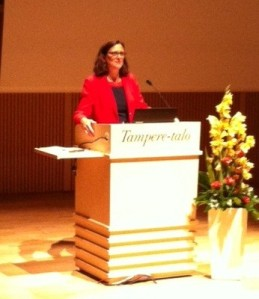 Tal i Tammerfors