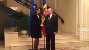 Möte med president Timofti