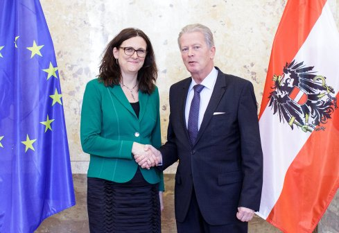Austrian Vice Chancelllor Reinhold Mitterlehner