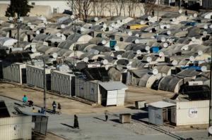 Refugee camp of Nizip, Turkey, 45 kilometers away from Syrian border Photo: EU